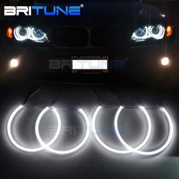 2018 Upgrade COB LED Angel Eyes Halo Ring For BMW E46 E39 E38 E36 Cars 3 5 7 Series Xenon HID Headlight Retrofit Silverado 131mm