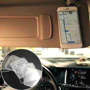 Image 5 - 5pcs/10pcs ברור דביק אנטי סליפ רפידות החלקה מטבח רכב מחזיק סופר קל מחצלת ממוחזר לשימוש חוזר רכב מדבקת Pad אבזרים