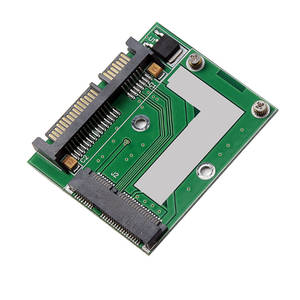 Adapter-Card MSATA Computer-Conversion-Module Expansion Mini To Add Electronic-Replacement