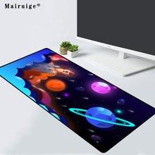 Игровой коврик для мыши mairuige с рисунком планеты компьютерный