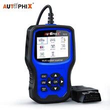 Autophix 7610 OBD2 Auto Scanner per Audi Skoda Sede ABS SRS Airbag Olio EPB DPF TPMS di Reset Strumento di Diagnostica Auto OBD2 Scanner ODB