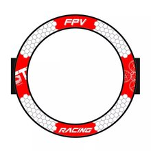 765 мм круглые с видом от первого лица ворота Летающий пересечения двери всплывающее окно ворота для 3 дюймов крошечного шлема гоночный микро FPV Drone