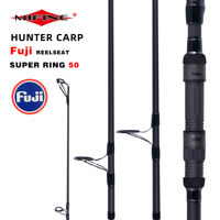 MIFINE HUNTER CARP Fishing Rod 3.96m FUJI REELSEAT 50mm Guide High Carbon Surf Spinning Casting Hard Throwing shot to about 180M