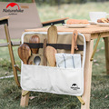 Naturehike 2020 Neue Besteck Lagerung Tasche Halter Camping Geschirr Stäbchen Löffel Gabel Organizer Outdoor Picknick BBQ Lagerung Pack