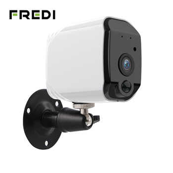 FREDI Lower Power Battery Outdoor IP Camera 1080P Really Wireless Surveillance Camera Home Security Waterproof WiFi IP Camera - DISCOUNT ITEM  23 OFF Security & Protection