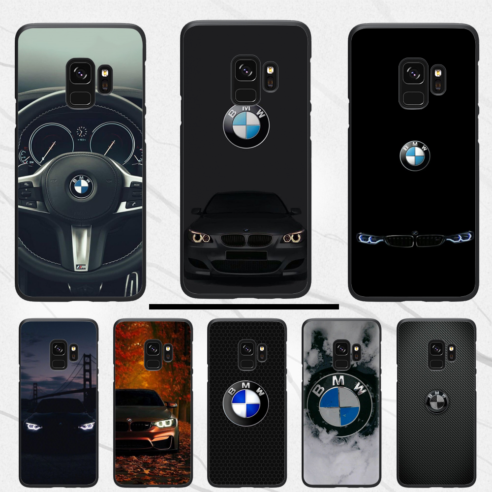 Blue Red For Bmw Car Bags Phone Case For Samsung S6 S7 Edge S8 S9 S10 E Plus A10 A50 A70 Note8 J7 2017