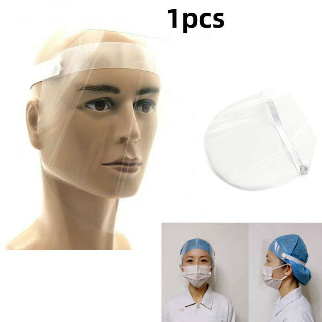 2020 Newest Protective Visor Hot 1 PC Anti-virus Saliva Transparent Mask Protective Face Shield PVC Protection 1