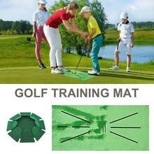 Коврик для тренировок по гольфу портативный коврик в помещении