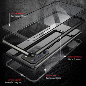 Image 4 - غلاف واقي مغناطيسي مضاد للخصوصية ، لهاتف Samsung Galaxy S21 S9 S8 Plus S20FE S10E Note 20 10 9 8 Ultra A51 A71 360