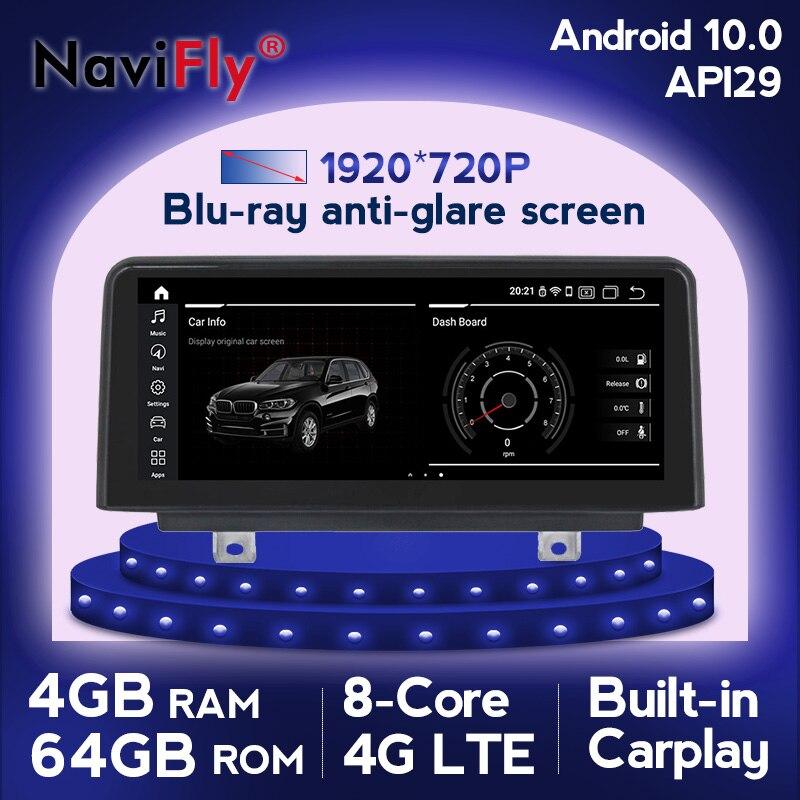 HD 1920*720 IPS 4G LTE WIFI Android 10 Auto multimedia Player für BMW F30 F20 F31 F34 f21 F32 F33 F36 CIC/NBT Autoradio GPS Navi