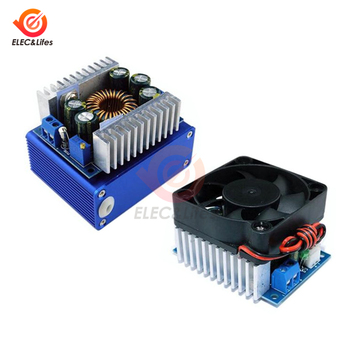 High Power 12A DC-DC Car Voltage Buck Supply Module 5-40V to 1.2-36V Step Down Converter with Aluminum Alloy Case - discount item  11% OFF Electrical Equipment & Supplies