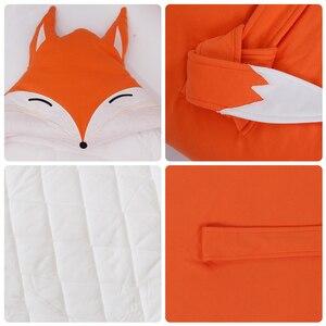 Image 4 - Baby Decke Quilt Decke Für Entladung Neugeborenen Baby Swaddle Wrap Nette Cartoon Form 100% Baumwolle 80*80Cm Bettwäsche wagen Sack