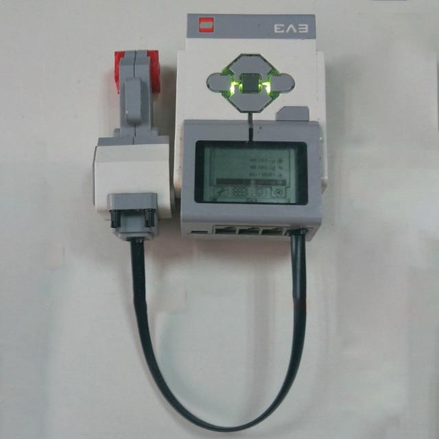 For logoinglys Technic Mindstorms 45500 EV3 Intelligent Brick 95646c01 95656 DIY Educational Building Blocks Toys Parts