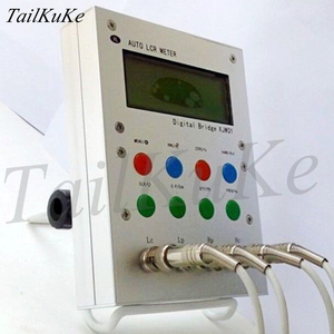 Image 2 - XJW01 цифровой мост 0.3% LCR тестер сопротивления, индуктивности, емкости, ESR, готовый продукт.