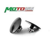 2 pièces passager Peg supprimer plaques de découpe accessoires de moto pour Triumph BONNEVILLE T100 brouilleur/THRUXTON 2001-2015 2014