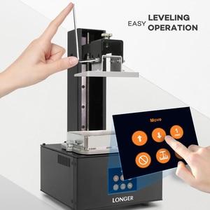Image 5 - Longer Orange 10 LCD 3D מדפסת סביר SLA 3D מדפסת מתכת גוף משופרת Z ציר חכם תמיכה UV שרף מדפסת