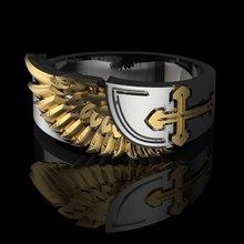 Vilage готическое мужское кольцо в стиле стимпанк из нержавеющей