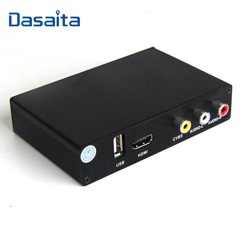 Hotaudio High Speed HD Car TV Tuner Mobile DVB-T T2 MPEG-4 Digital TV Receiver Box Dual Antennas For Russia European