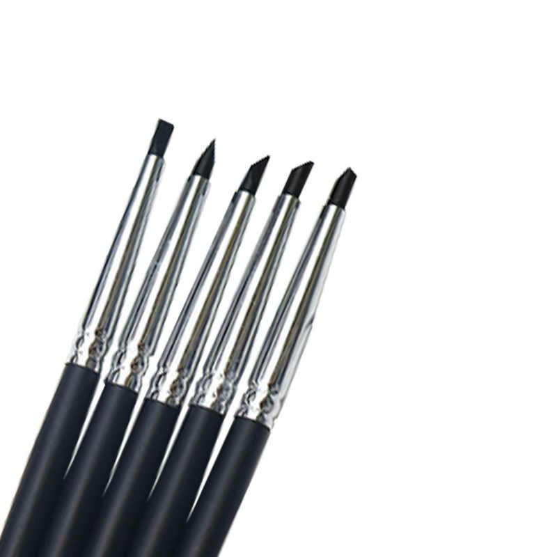 5 ชิ้น/เซ็ตทันตกรรมเรซิ่นปากกาแปรงทันตกรรม Shaping ซิลิโคนฟันเครื่องมือสำหรับกาวคอมโพสิตซีเมนต์ฟันพอร์ซเลนเครื่องมือทันตแพทย์