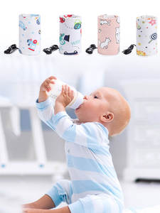 Bags Bottle-Heating-Thermostat Milk-Bottle Safety-Warmer Bebe Baby Portable Infant USB