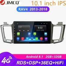 2G+32G Android 8.1 4G Car Radio for Toyota RAV4 4 XA40 5 XA50 2012-2018 Multimedia Video Player Navigation GPS 2din 2 Din Dvd