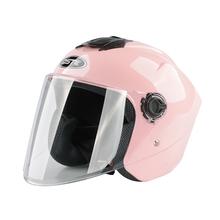 Motorcycle helmet riding bicycle convertible electric bike Open face he