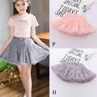 WEIXINBUY Baby girl tutu skirt tulle lace bloomers diaper cover Newborn infant outfits Mauv Baby mesh bloomer