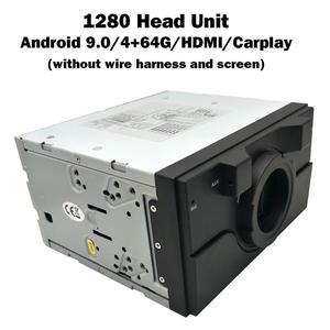 """Image 3 - Carbar onarım parçaları kafa ünitesi anne kurulu çekirdek kurulu için 1280 12.8 """"Tesla Android araba radyo DVD GPS oynatıcı 4 + 64G HDMI Carplay"""