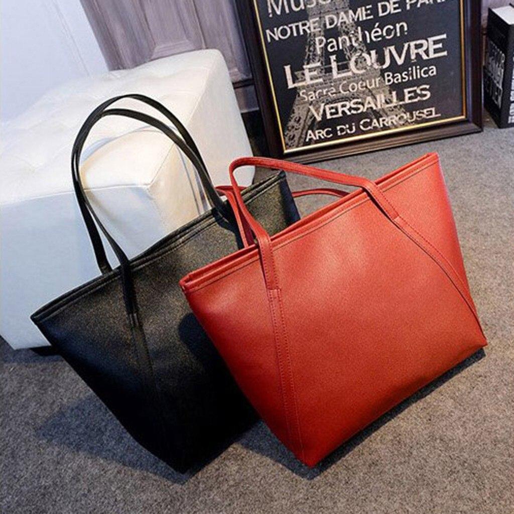 Offre Spéciale femmes sac grande capacité sacs à bandoulière haute qualité en cuir PU sacs à bandoulière dames sacs sauvages sac a main femme