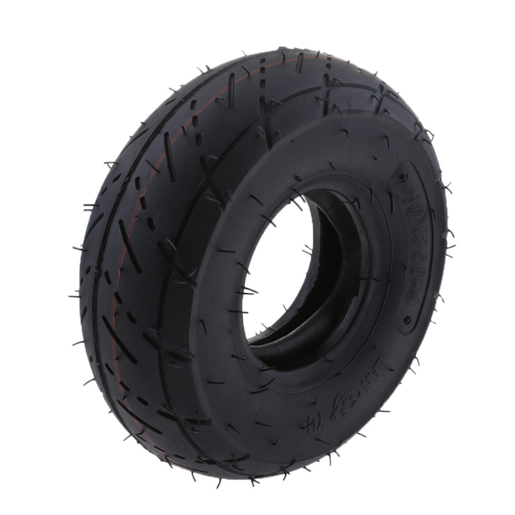Scooter Tire & Inner <font><b>Tube</b></font> <font><b>3.00</b></font> x <font><b>4</b></font> (<font><b>3.00</b></font>-<font><b>4</b></font>) for 49cc 2-Stroke Electric Bike image