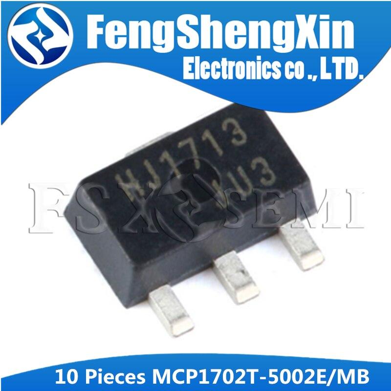 10pcs MCP1702-3302E//TO 1702-3302E 250 mA Low Quiescent Current LDO Regulator