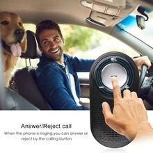Беспроводной Bluetooth многоточечный громкоговоритель комплект динамиков автомобильный солнцезащитный козырек