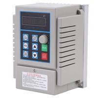 AC 220V 0.75kW Variable Frequency Drive VFD Speed Controller Inverter Single Phrase Inverter Motor Drive