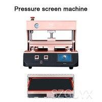 Máquina de estratificação da tela da pressão do vácuo de 15 polegadas máquina de estratificação da tela da pressão da tela reta