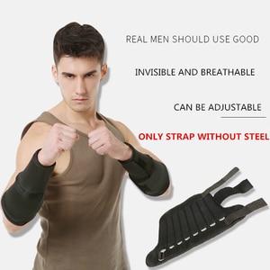 Image 2 - Nowa regulowana waga kostki wsparcie pasek ochronny pogrubienie nogi trening siłowy Shock Guard siłownia Gear 1 6kg tylko pasek