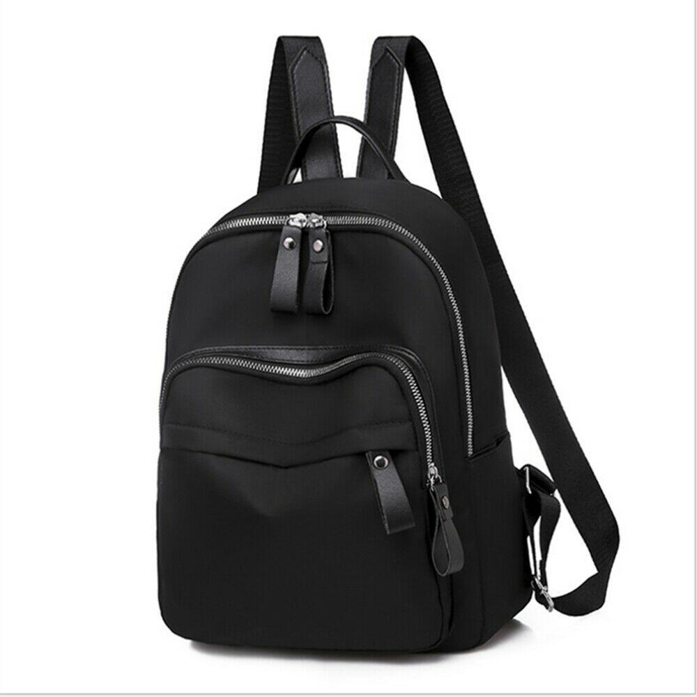 Fashion Lady School Leather Girls Backpack Travel Shoulder Bag Women's Backpack Girls Solid Bagpack Bags For Women 2019