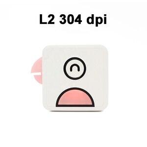 Image 4 - Poooli L1 L2 kuş cep cep taşınabilir Mini 300 Dpi fotoğraf yazıcısı öğrenci yanlış konu sıralama baskı resim listesi afiş