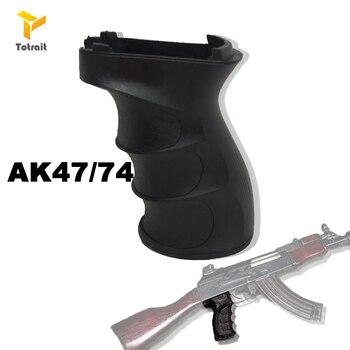 Airsoft Paintball AK47/74 Vertical ABS Handle Grips For Picatinny Rail Verticals Grip Toy Guns Hunting and Equipment Accessories durable diy plastic steel hand grip rail mount set for ak guns imitation guns black 4 pcs