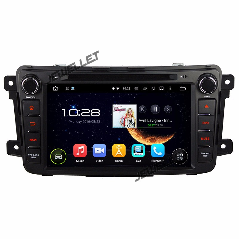 Octa core IPS screen <font><b>Android</b></font> 9.0 Car DVD GPS <font><b>radio</b></font> Navigation for <font><b>Mazda</b></font> <font><b>CX</b></font>-9 2007-2015 with 4G/Wifi DVR OBD 1080P image