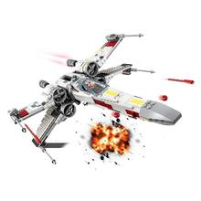 lepin 05040 star wars y star wing attack fighter building block brick diy toy educational gift compatible legoingly 10134 New Star Wars  05004 10904 Tie Fighter AT-TE Walker X Wing Figure Building Blocks Brick Toy For Children 75240 75218
