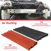 Car Hood Air Intake Pipe 1m Air Ducting Hose Tube 76/70/63/60/57/51/45mm Flexible Filter Pipe Universal|Air Intakes| |  -