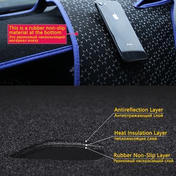 Dashboard Cover Pelindung Pad untuk Toyota Corolla E120 E130 2000 2001 2002 2003 2004 2005 2006 Dash Board Kerai Karpet mobil
