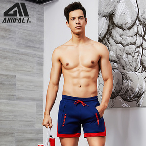 Image 3 - Aimpact Fashion Casual Shorts for Men Athletic Running Workout Gym Training Shorts Sport Soft Homewear Short Trunks AM2209