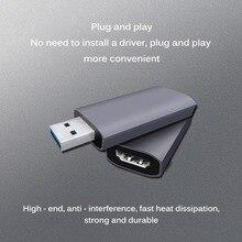 Mini 4K 1080P HDMI к USB 2,0 USB2.0 Карта видеозахвата Phone Game Запись коробка для ПК Youtube OBS DVD в прямом эфире