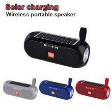 Orador portátil impermeável exterior de bluetooth, estéreo, bateria solar, orador sem fio de bluetooth, centro de música, mp3 caixa de som