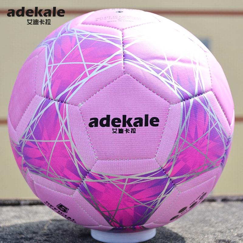 Ultraviolet Light Discoloration Football Standard Game Training Light Change Soccer Adult No. 5 Child kids No. 4