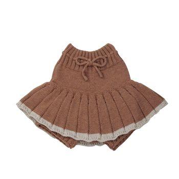 Baby Girl's Knitted Short Skirt 3