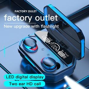 Image 5 - Cuffie Bluetooth Wireless TWS cuffie sportive torcia a LED auricolari da gioco per iPhone Oppo Huawei Xiaomi Music auricolari