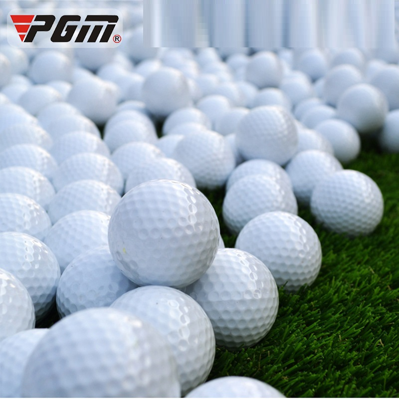 PGM 1PCS Golf Balls Rubber Sport Game 42.6mm Diameter Double-layer Ball Indoor Outdoor Practice Training Aids