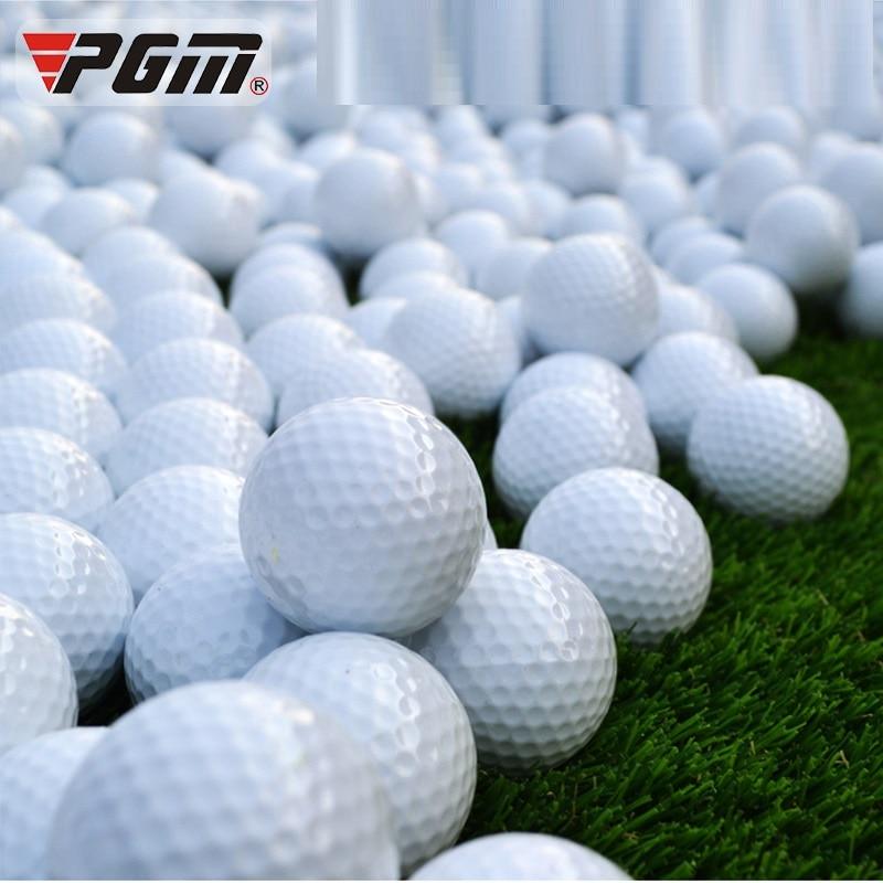 PGM 1PCS Golf Balls Rubber Sport Game 42.6mm Diameter Double-layer Ball Indoor Outdoor Practice Training Aids